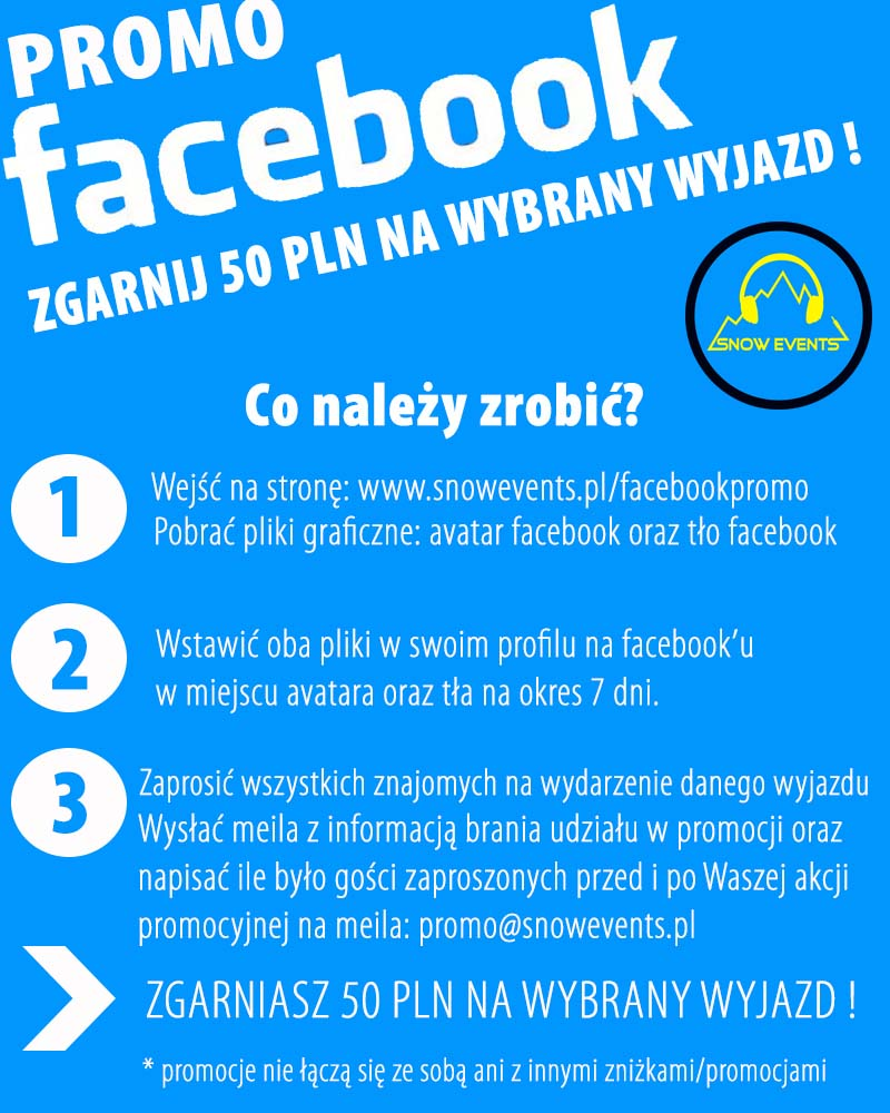 promo facebook snowevents