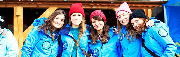 obóz narciarskidla studentów