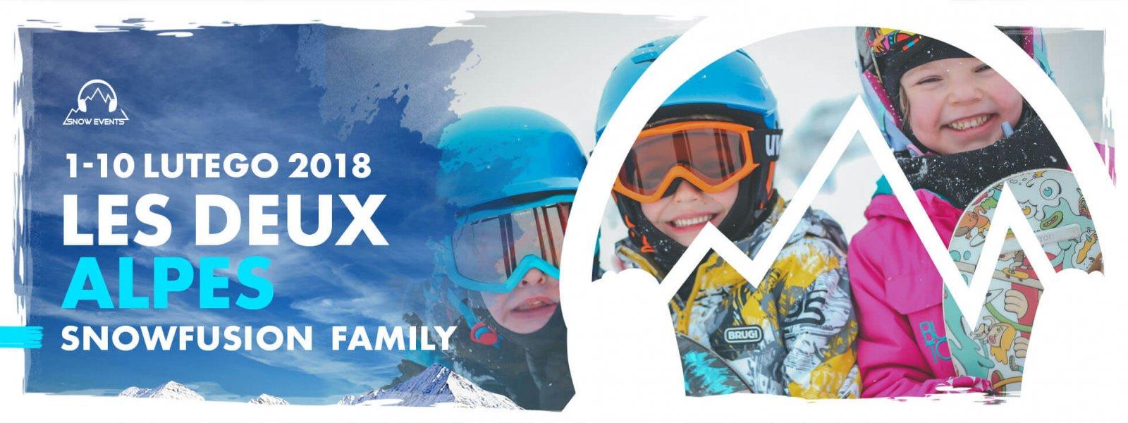 rodzinny les 2 alpes luty 2019
