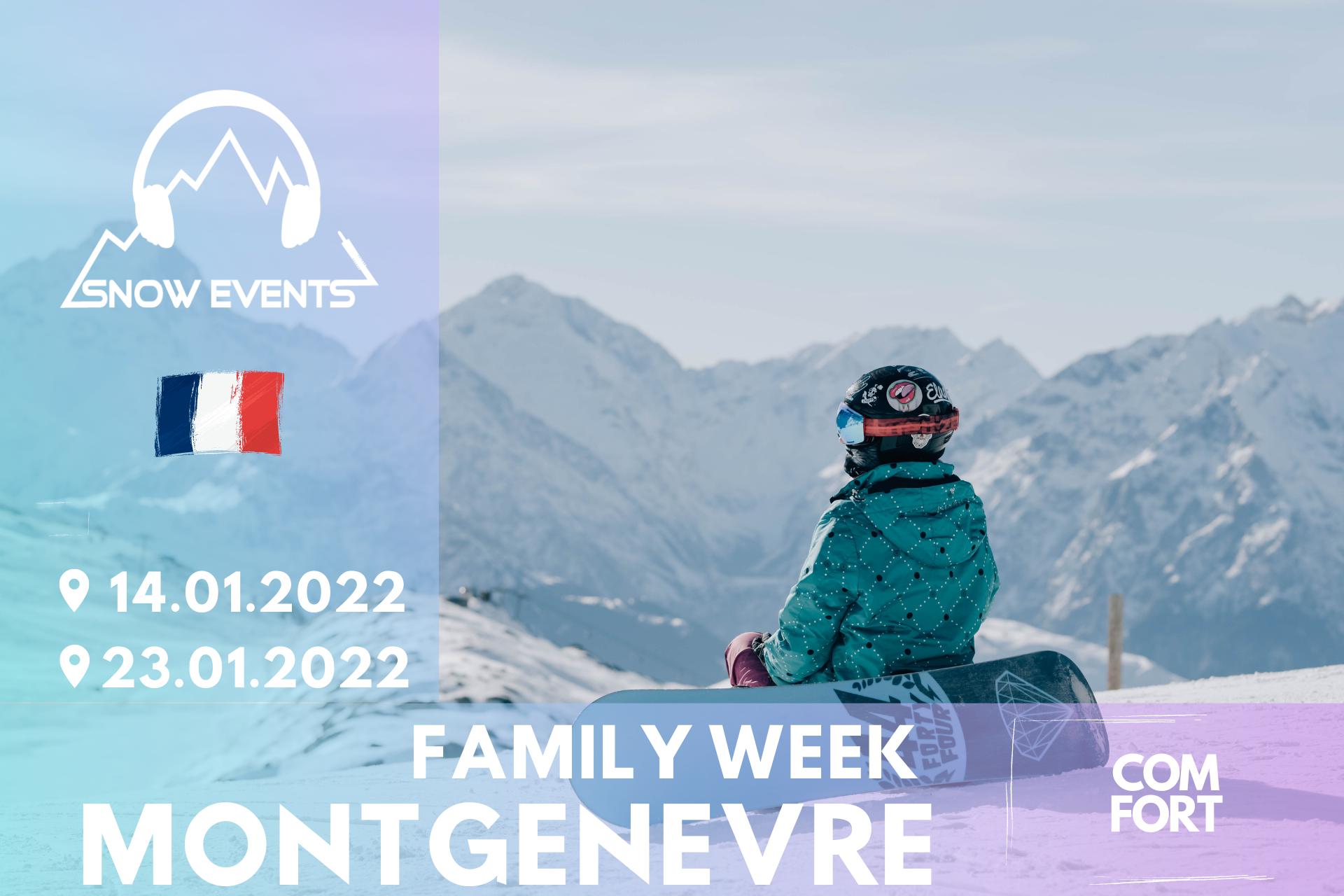 Family week BANER OFERTY -MONTGENEVRE